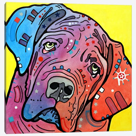 The Bully Canvas Print #DRO38} by Dean Russo Canvas Art Print