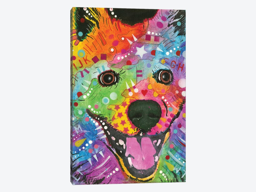 Eskimo Dog by Dean Russo 1-piece Canvas Wall Art