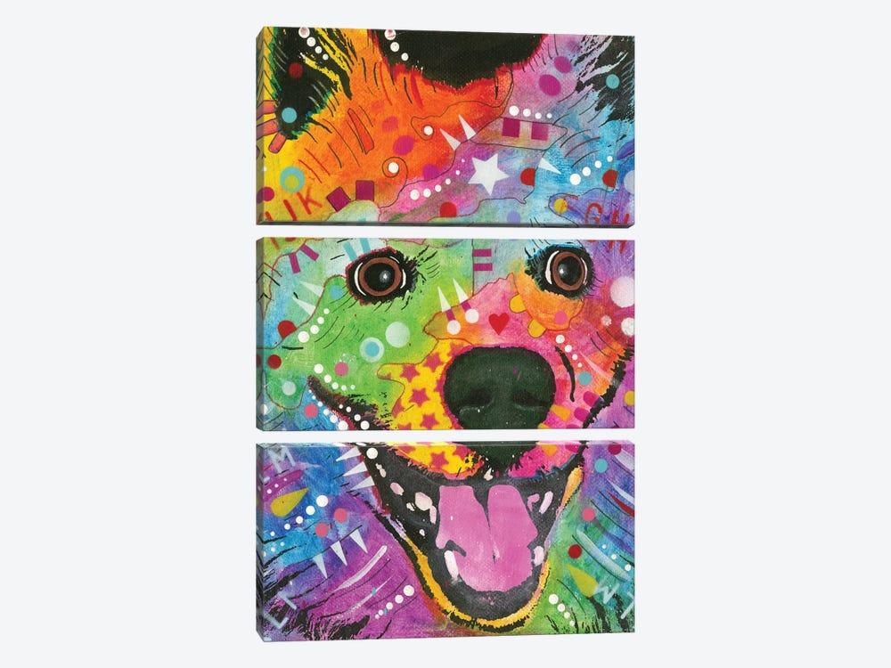 Eskimo Dog by Dean Russo 3-piece Canvas Wall Art