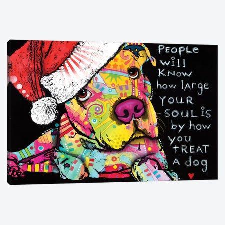 Firu Christmas Canvas Print #DRO395} by Dean Russo Canvas Wall Art