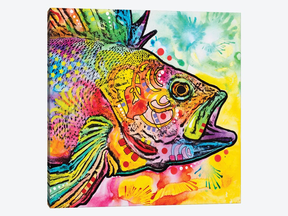 Fish by Dean Russo 1-piece Canvas Wall Art