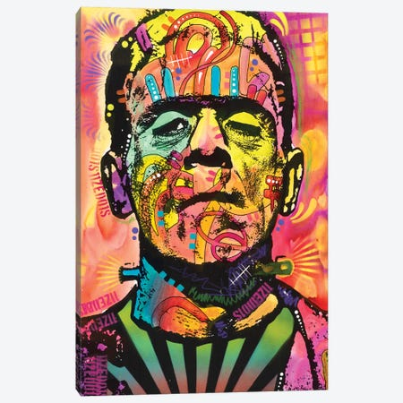 Frankenstein Canvas Print #DRO398} by Dean Russo Canvas Print