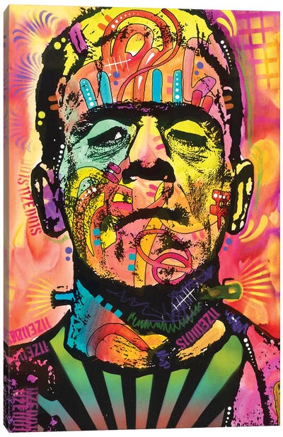 Frankenstein Canvas Art Print