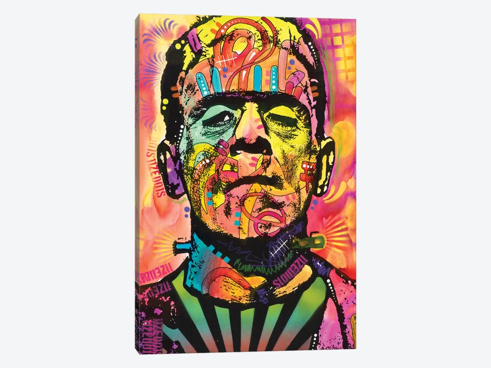 Frankenstein 1-piece Canvas Art