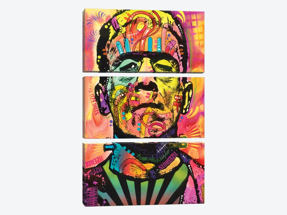 Frankenstein by Dean Russo 3-piece Canvas Wall Art