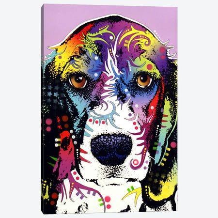 4 Beagles Canvas Print #DRO3} by Dean Russo Canvas Print