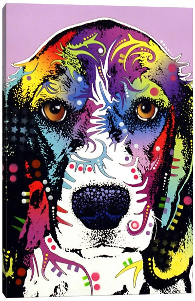 4 Beagles Canvas Art Print