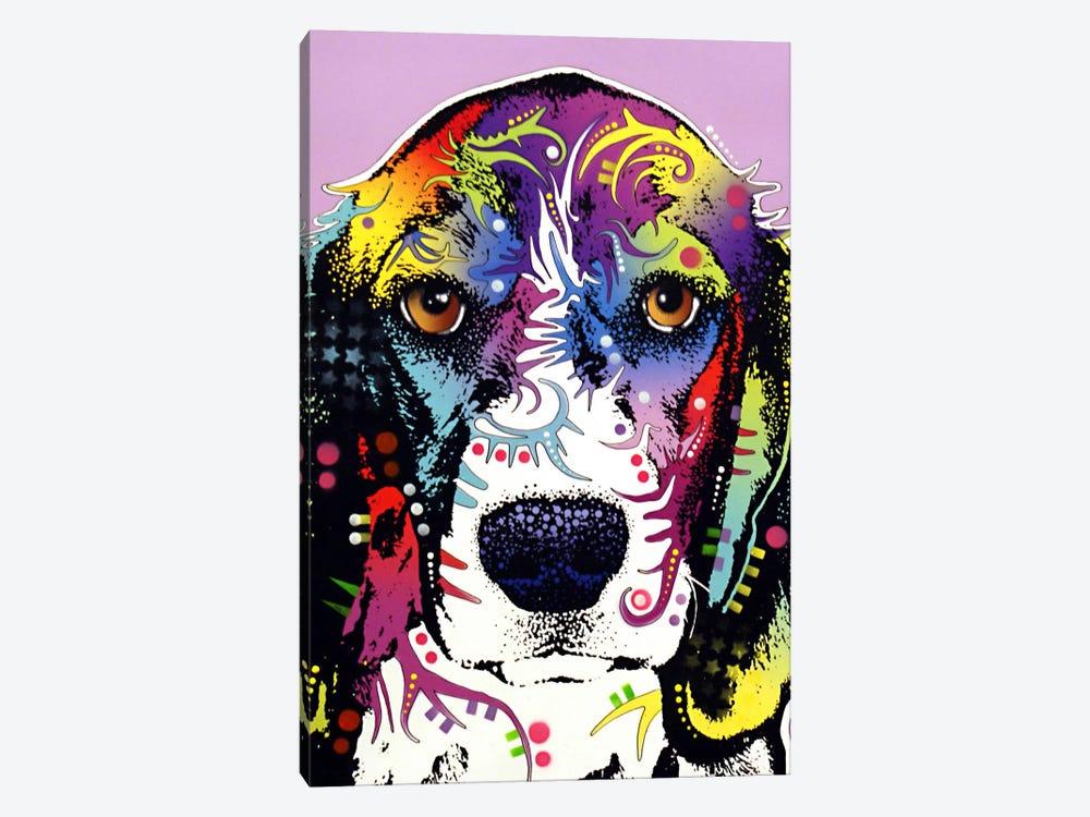 4 Beagles by Dean Russo 1-piece Art Print