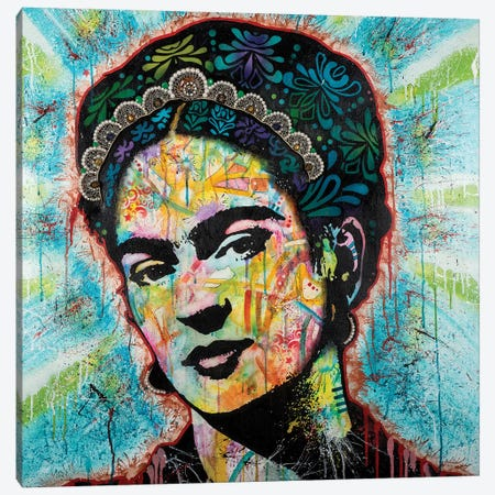 Frida Canvas Print #DRO400} by Dean Russo Canvas Print