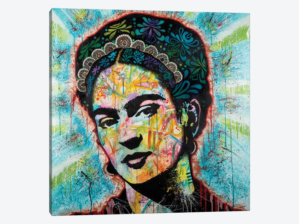 Frida by Dean Russo 1-piece Canvas Wall Art