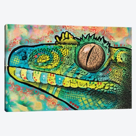 Gecko Canvas Print #DRO401} by Dean Russo Canvas Art Print