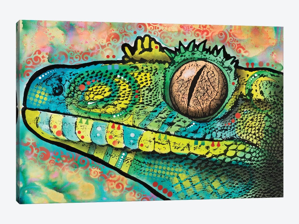 Gecko by Dean Russo 1-piece Canvas Print