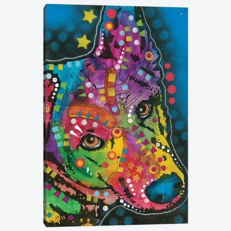 German Shepherd I Canvas Print #DRO404} by Dean Russo Canvas Wall Art