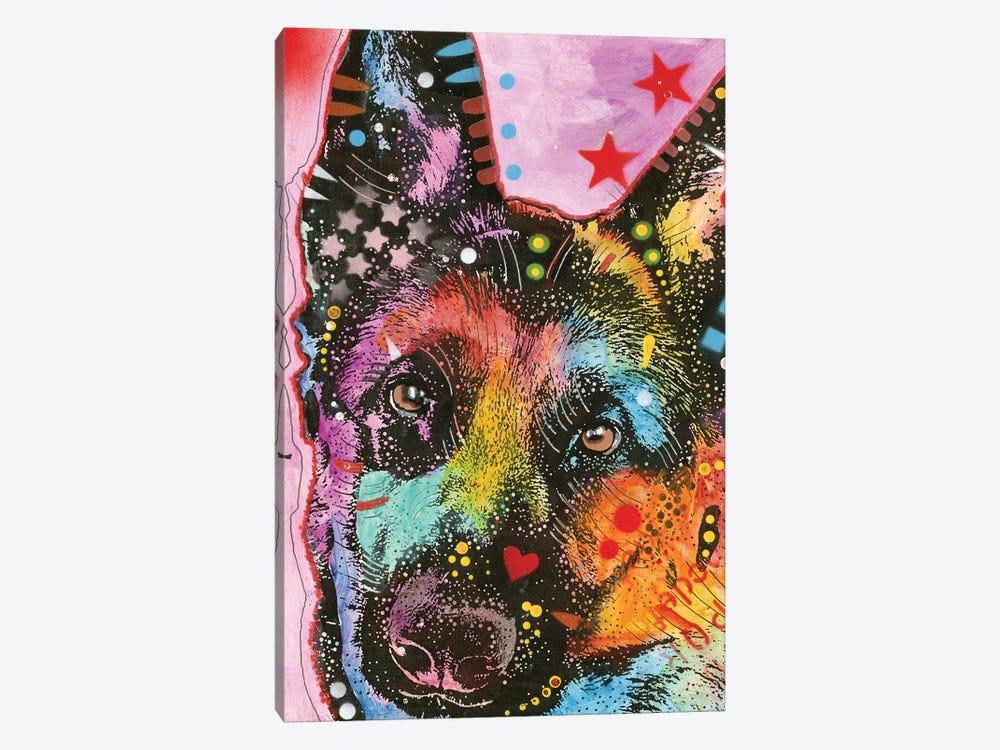 German Shepherd Ii By Dean Russo 1 Piece Canvas Art Print