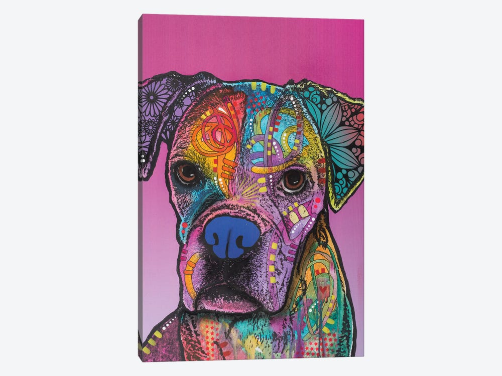 Gertie 1-piece Canvas Artwork