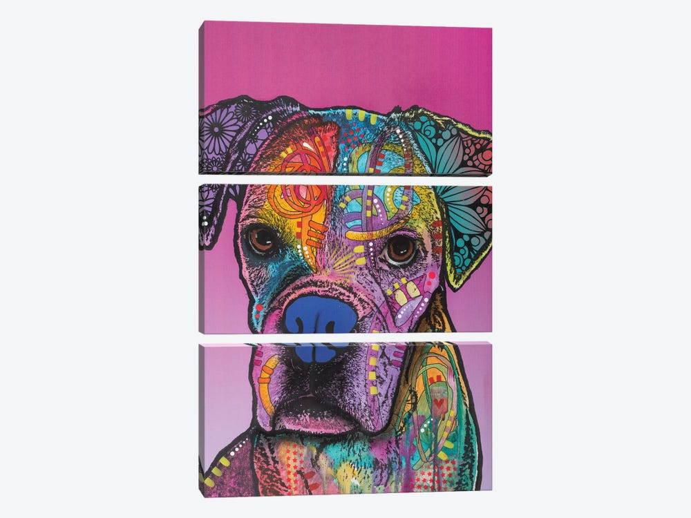 Gertie by Dean Russo 3-piece Canvas Artwork