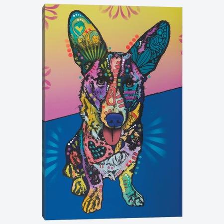 Gracie Canvas Print #DRO408} by Dean Russo Art Print