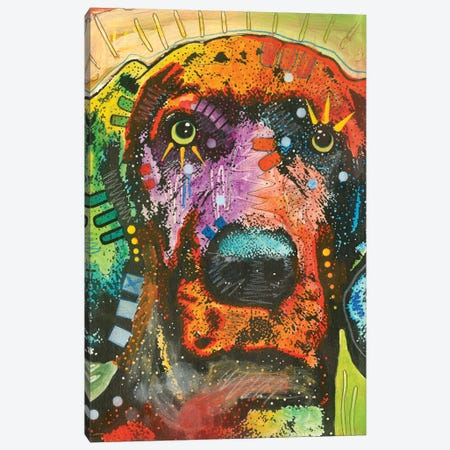 Great Dane I Canvas Print #DRO409} by Dean Russo Art Print