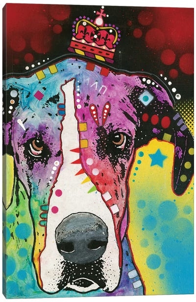 Great Dane II Canvas Art Print