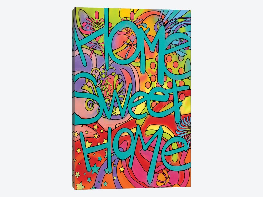 Home Sweet Home by Dean Russo 1-piece Canvas Artwork