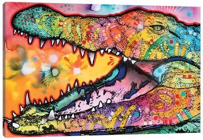 In Awhile Crocodile I Canvas Art Print