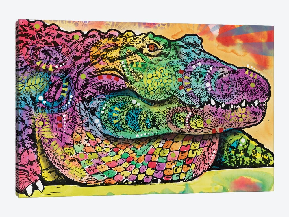 In Awhile Crocodile II by Dean Russo 1-piece Art Print