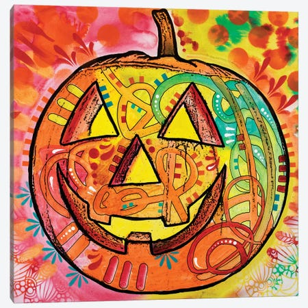 Jack O' Lantern Canvas Print #DRO426} by Dean Russo Canvas Artwork