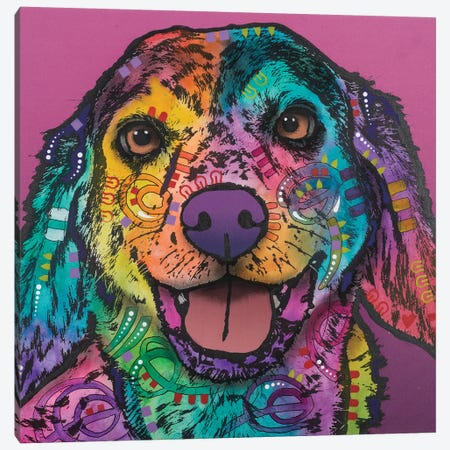 Jasper Canvas Print #DRO427} by Dean Russo Canvas Artwork