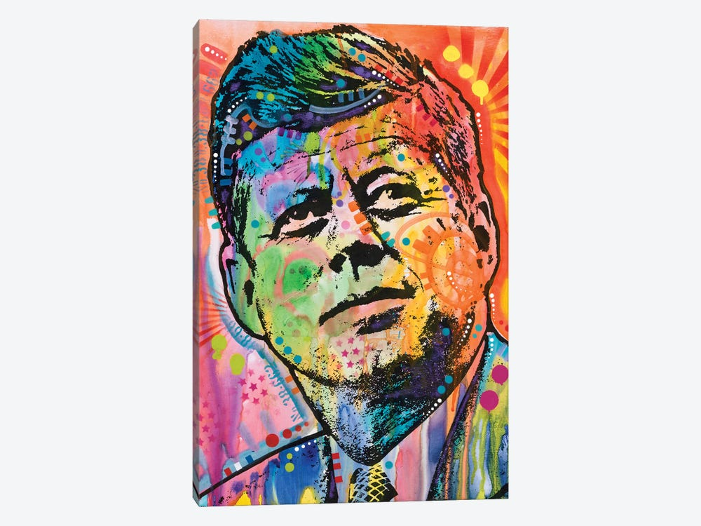 JFK by Dean Russo 1-piece Canvas Art Print