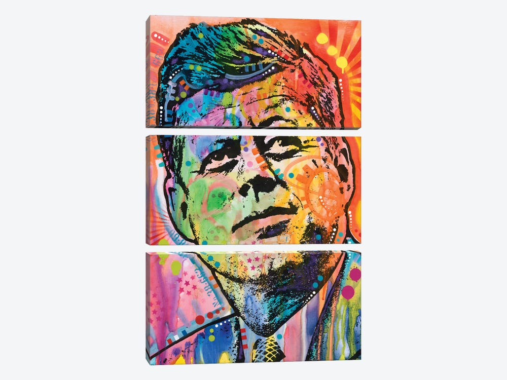 JFK by Dean Russo 3-piece Art Print