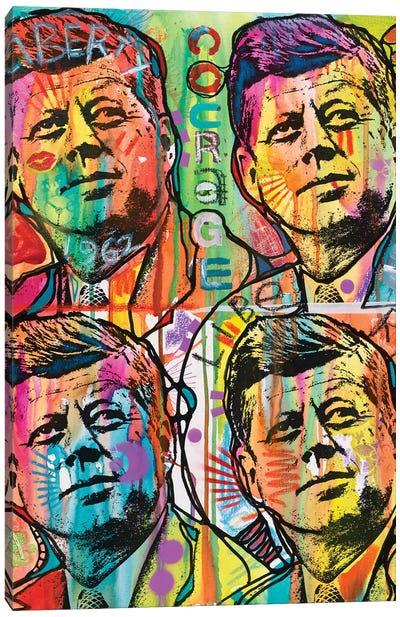 JFK 4 Up Canvas Art Print