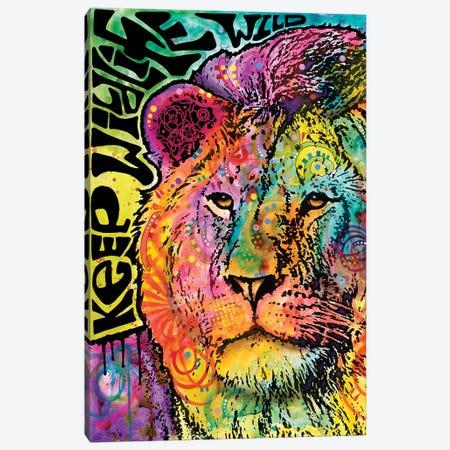 Keep Wildlife Wild I Canvas Print #DRO436} by Dean Russo Canvas Art Print