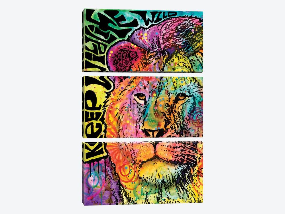 Keep Wildlife Wild I by Dean Russo 3-piece Art Print