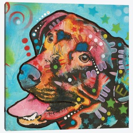 Labrador III Canvas Print #DRO443} by Dean Russo Art Print