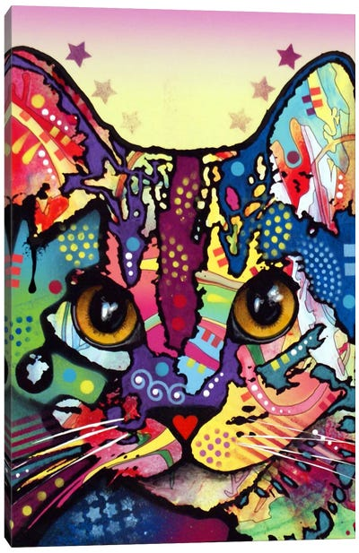 Maya Cat Canvas Art Print