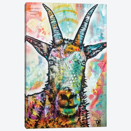 Look Who's Smiling Now Canvas Print #DRO451} by Dean Russo Canvas Art