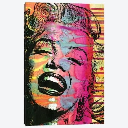 Marilyn Canvas Print #DRO464} by Dean Russo Canvas Wall Art