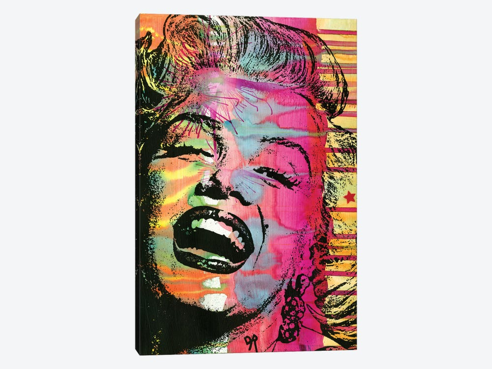 Marilyn by Dean Russo 1-piece Canvas Wall Art