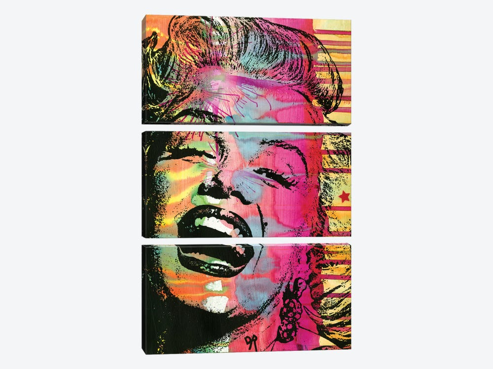 Marilyn by Dean Russo 3-piece Canvas Artwork