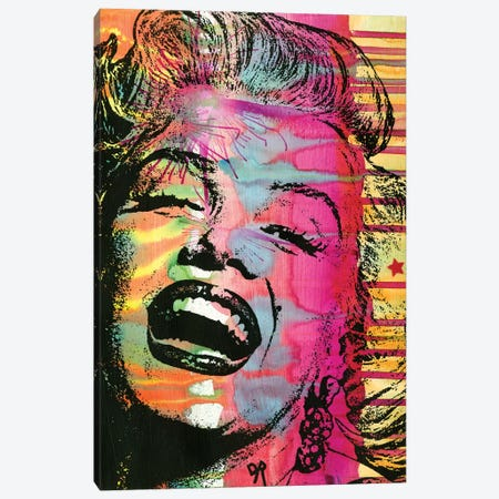 Marilyn Canvas Print #DRO464} by Dean Russo Canvas Wall Art