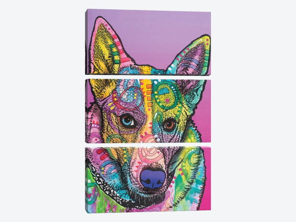 Mia by Dean Russo 3-piece Canvas Art Print