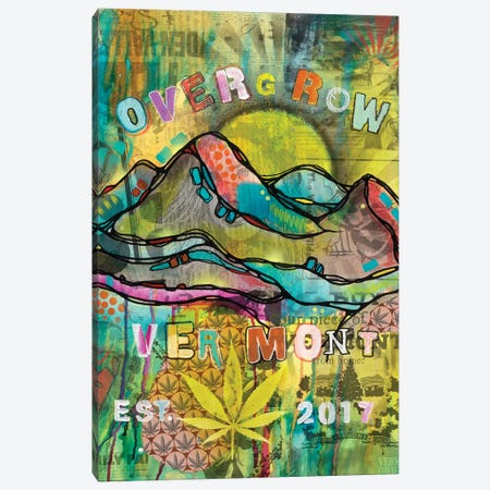 Overgrow Vermont Canvas Print #DRO481} by Dean Russo Art Print