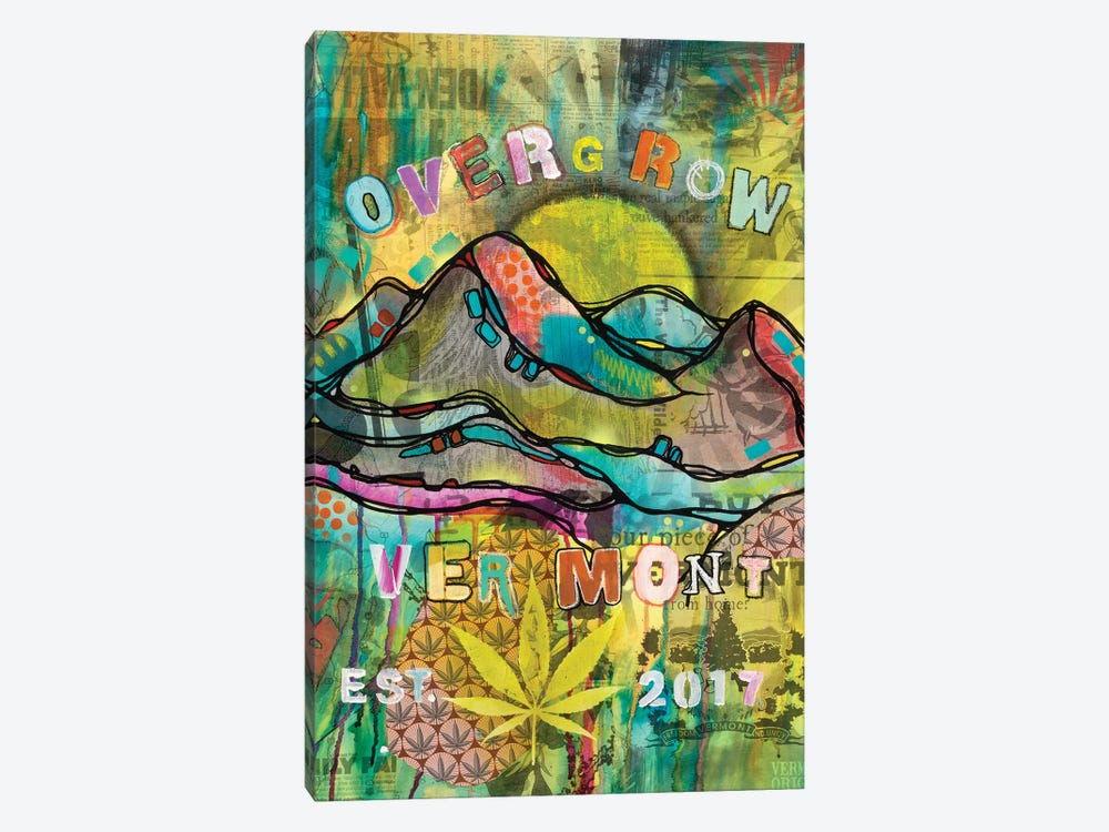 Overgrow Vermont by Dean Russo 1-piece Canvas Print