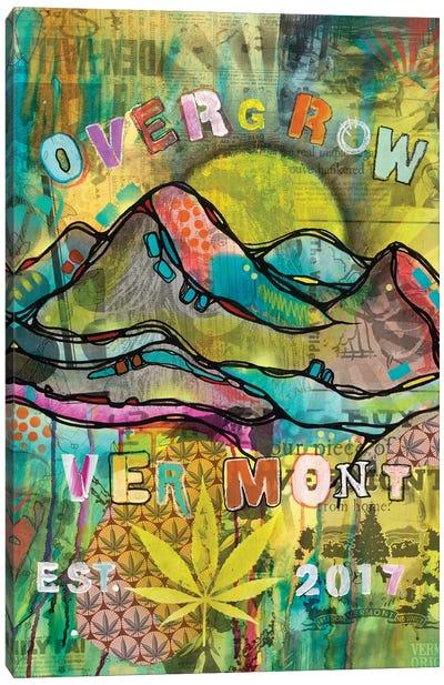Overgrow Vermont Canvas Art Print