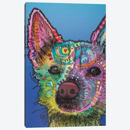 Ozzie Canvas Print #DRO482} by Dean Russo Art Print