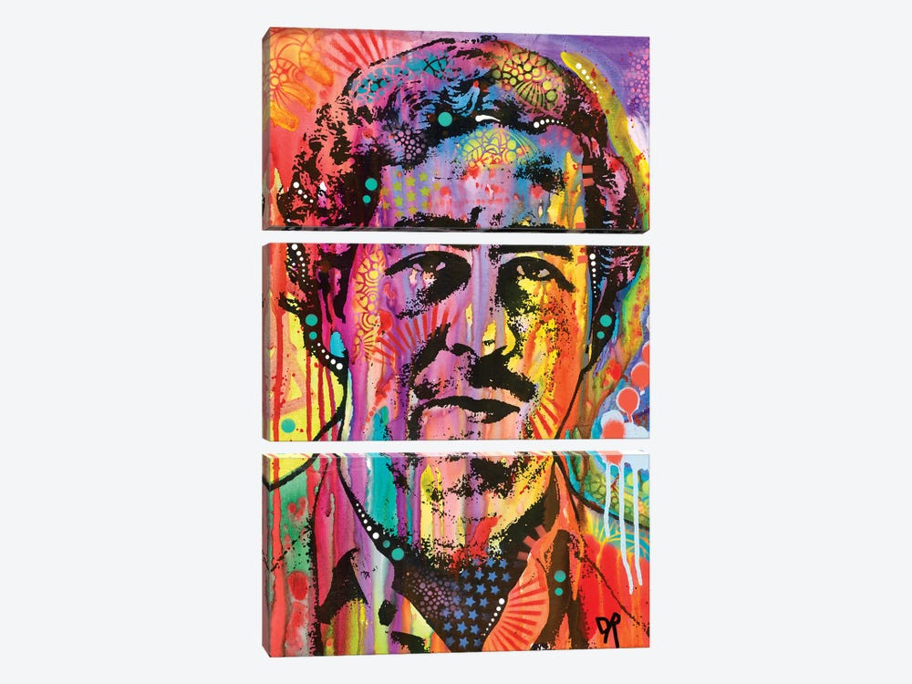 Pablo Escobar by Dean Russo 3-piece Art Print
