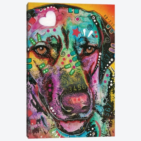 Pointer II Canvas Print #DRO490} by Dean Russo Canvas Wall Art