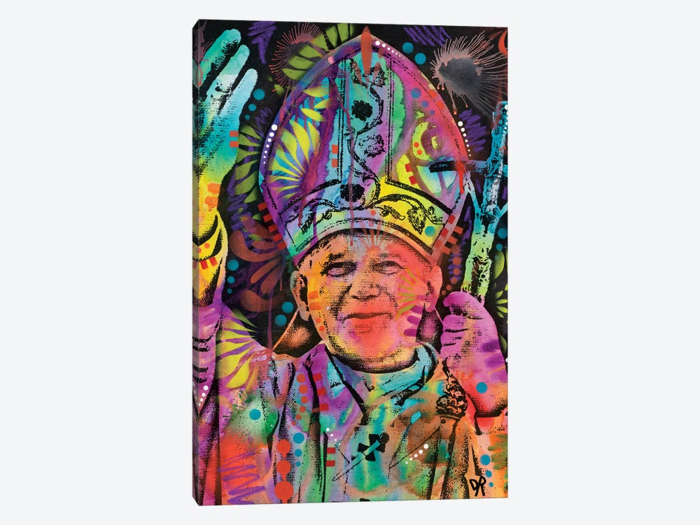 Pope by Dean Russo 1-piece Canvas Art Print