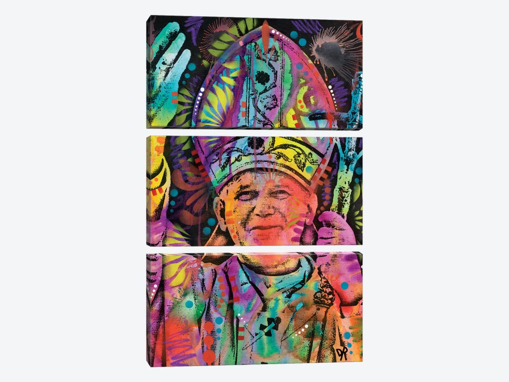 Pope by Dean Russo 3-piece Canvas Print