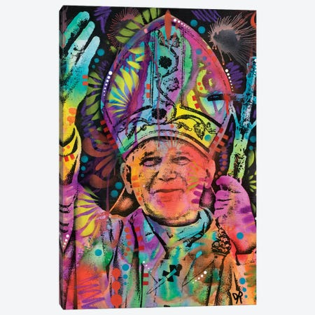 Pope Canvas Print #DRO492} by Dean Russo Canvas Art